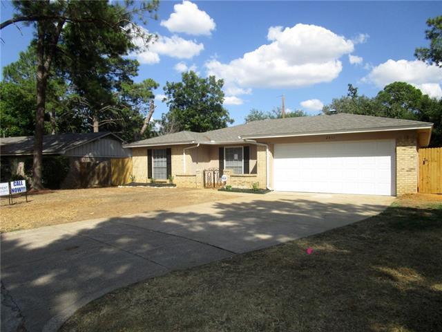 Rental Homes for Rent, ListingId:35281625, location: 2511 Zapata Drive Arlington 76015