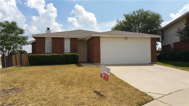Rental Homes for Rent, ListingId:35344133, location: 1800 Lost Trail Court Arlington 76002