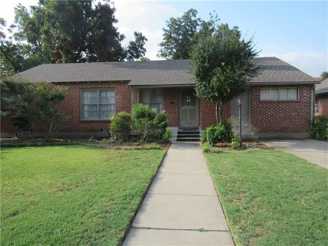 Rental Homes for Rent, ListingId:35421501, location: 2809 Princeton Street Ft Worth 76109