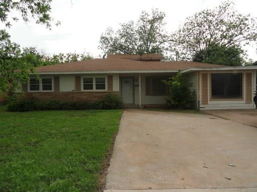 Rental Homes for Rent, ListingId:35463067, location: 1346 S Pioneer Drive Abilene 79605