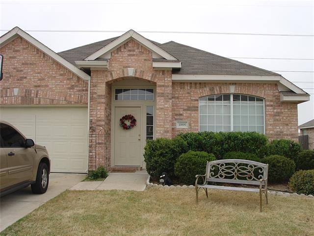 Rental Homes for Rent, ListingId:35498087, location: 1006 Courtside Drive Arlington 76002