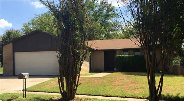 Rental Homes for Rent, ListingId:35573463, location: 6504 Blackberry Drive Arlington 76016