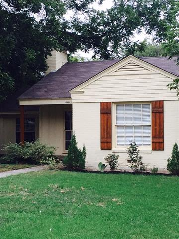 Rental Homes for Rent, ListingId:35580546, location: 6340 Malvey Avenue Ft Worth 76116