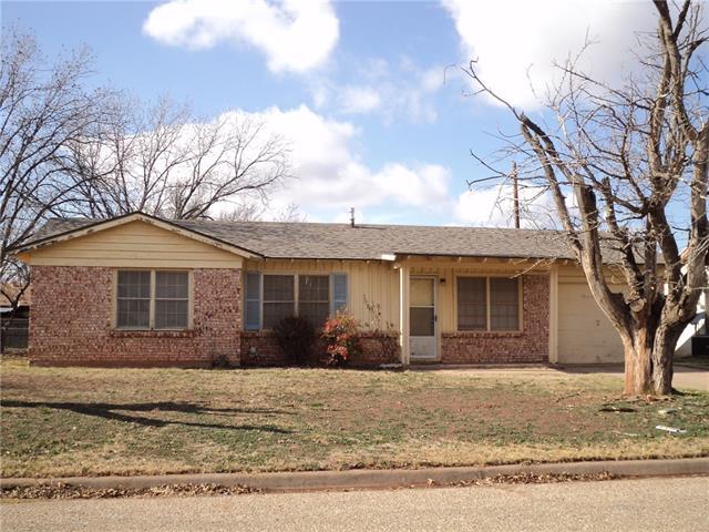 Rental Homes for Rent, ListingId:35606442, location: 3234 Wenwood Abilene 79606