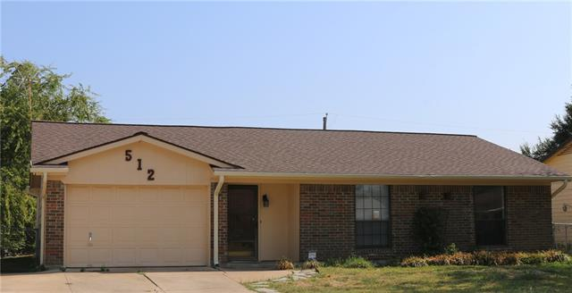 Rental Homes for Rent, ListingId:35634096, location: 512 Southlake Drive Forney 75126
