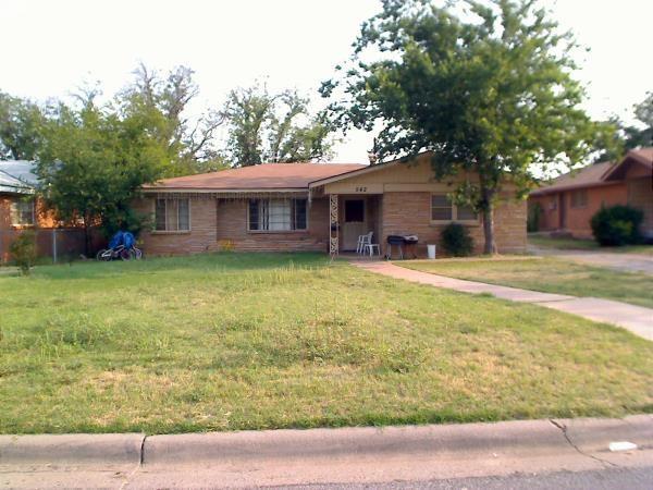 Rental Homes for Rent, ListingId:35634101, location: 542 E North 18th Street Abilene 79601