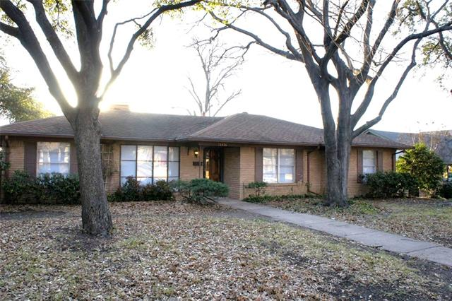 Rental Homes for Rent, ListingId:35645064, location: 13426 Janwood Lane Farmers Branch 75234