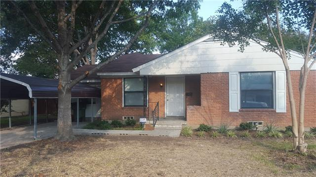 Rental Homes for Rent, ListingId:35652413, location: 2901 Holm Drive Garland 75041