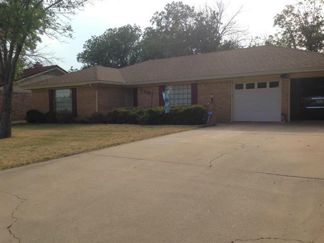 Rental Homes for Rent, ListingId:35676412, location: 3118 S Willis Street Abilene 79605
