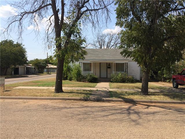 Rental Homes for Rent, ListingId:35676366, location: 1334 Marshall Street Abilene 79605