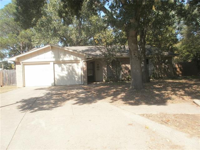 Rental Homes for Rent, ListingId:35684036, location: 2303 Vassar Court Arlington 76015