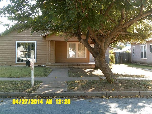 Rental Homes for Rent, ListingId:35692928, location: 1273 Jeanette Street Abilene 79602