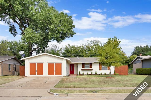 Rental Homes for Rent, ListingId:35711162, location: 430 Melrose Drive Richardson 75080