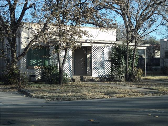Rental Homes for Rent, ListingId:35699496, location: 2418 S 11th Abilene 79605