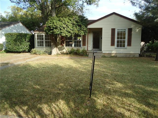 Rental Homes for Rent, ListingId:35711624, location: 10632 Hermosa Drive Dallas 75218