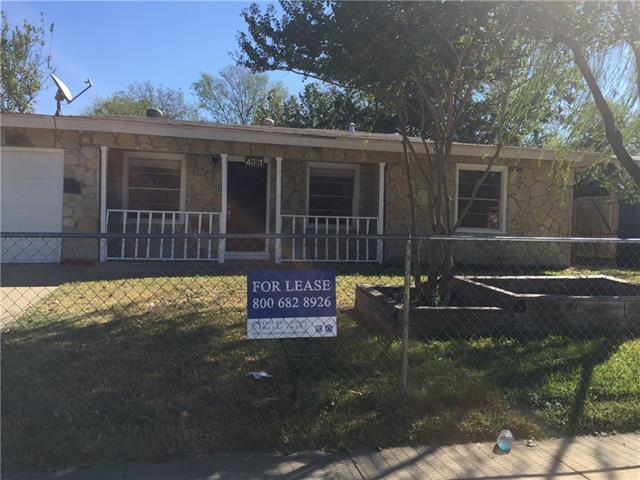 Rental Homes for Rent, ListingId:35733547, location: 4321 Pate Drive Ft Worth 76119