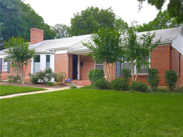 Rental Homes for Rent, ListingId:35830687, location: 613 Westwood Avenue Ft Worth 76107
