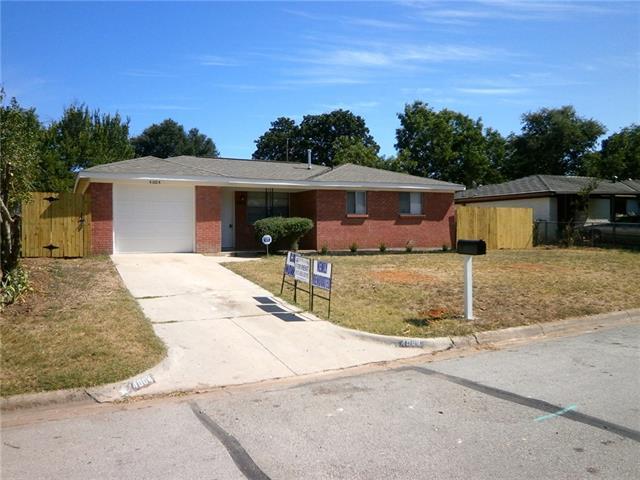 Rental Homes for Rent, ListingId:35830188, location: 4004 Delaware Trail Lake Worth 76135