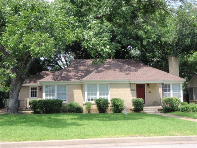 Rental Homes for Rent, ListingId:35856364, location: 3516 Harwen Terrace Ft Worth 76109