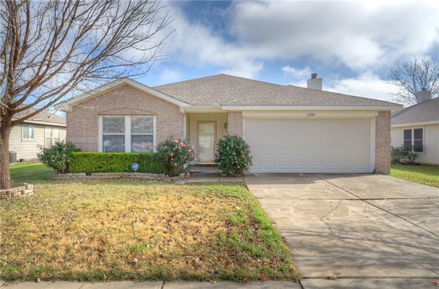 Rental Homes for Rent, ListingId:36819423, location: 2208 Lookout Lane Denton 76207