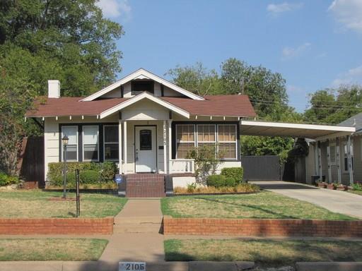 Rental Homes for Rent, ListingId:35942222, location: 2105 Western Avenue Ft Worth 76107