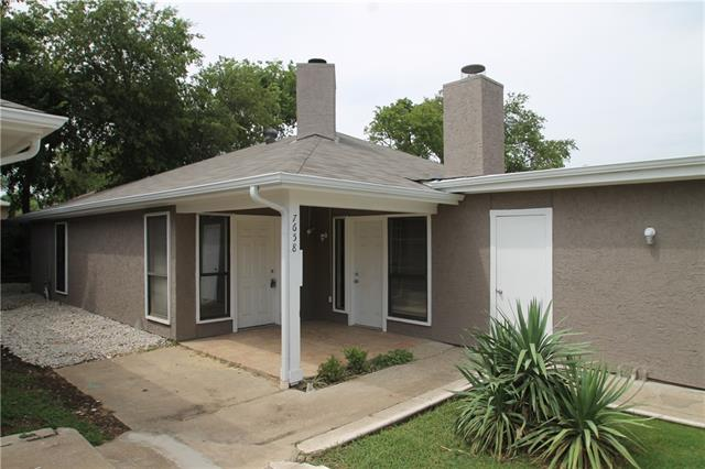 Rental Homes for Rent, ListingId:36016727, location: 7662 Ronnie Drive Dallas 75252