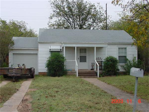 Rental Homes for Rent, ListingId:36017283, location: 1617 Marshall Street Abilene 79605