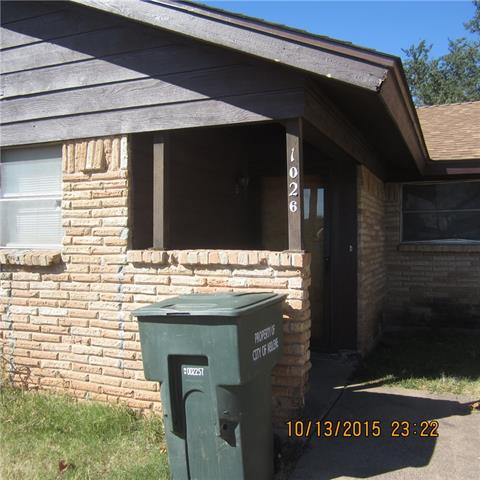 Rental Homes for Rent, ListingId:36028186, location: 1026 Cypress Street Abilene 79601