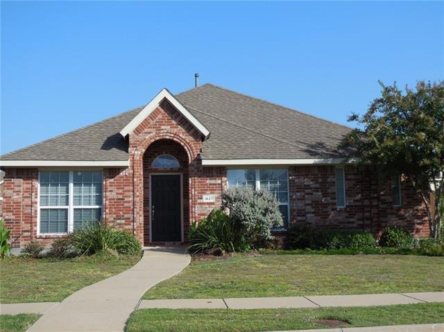 Rental Homes for Rent, ListingId:36028284, location: 1627 Warm Springs Drive Allen 75002