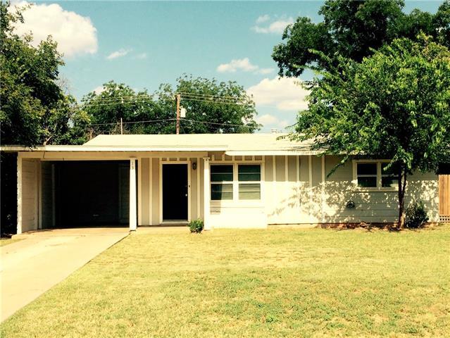 Rental Homes for Rent, ListingId:36060449, location: 1309 Buccaneer Drive Abilene 79605
