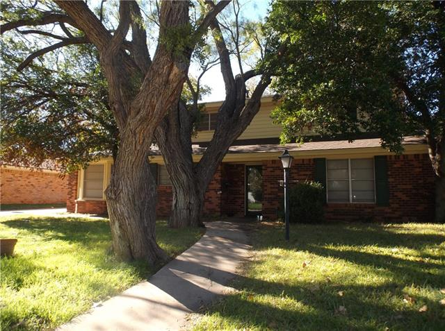 Rental Homes for Rent, ListingId:36125249, location: 1418 Roanoak Drive Abilene 79603