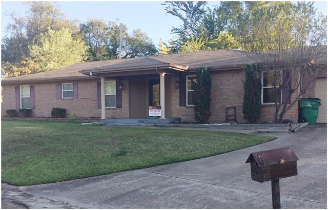 Rental Homes for Rent, ListingId:36261890, location: 2407 Davis Circle Greenville 75402