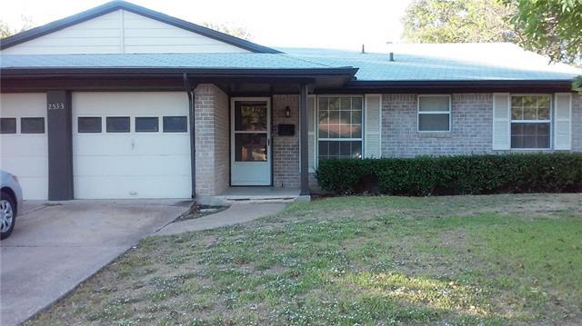Rental Homes for Rent, ListingId:36125225, location: 2533 Northview Drive Mesquite 75150