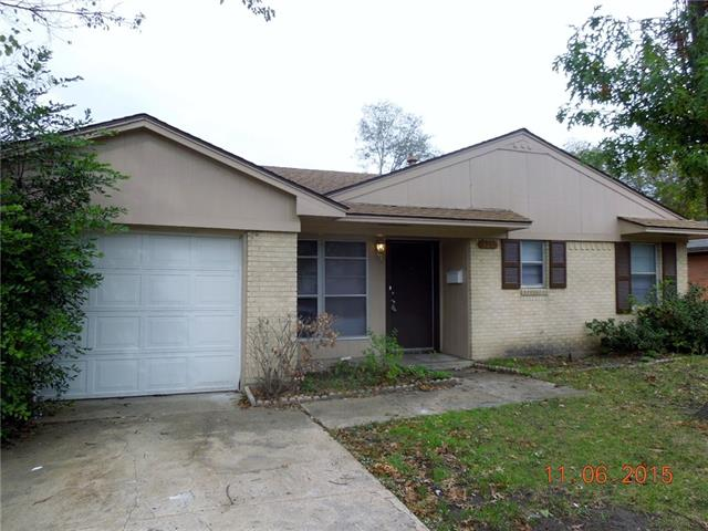 Rental Homes for Rent, ListingId:36154808, location: 125 Marigold Drive Garland 75041