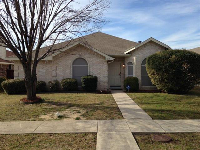 Rental Homes for Rent, ListingId:36158010, location: 747 Catalina Drive Lancaster 75146