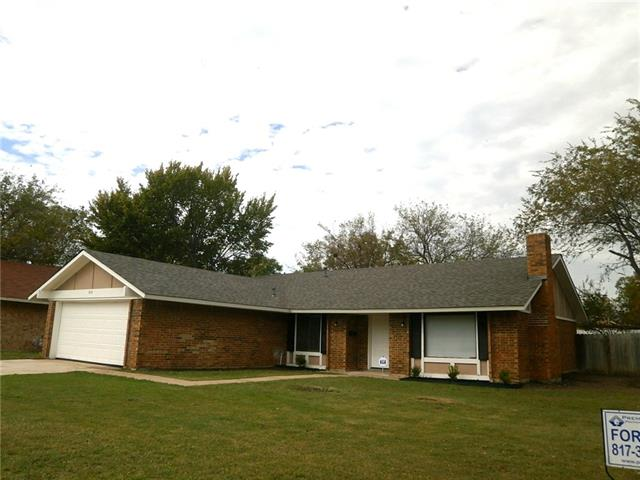 Rental Homes for Rent, ListingId:36245348, location: 814 Padre Court Grand Prairie 75052