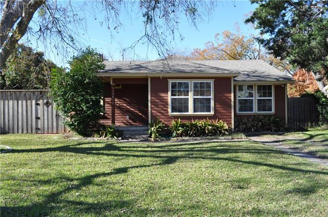Rental Homes for Rent, ListingId:36226664, location: 10815 Hermosa Drive Dallas 75218