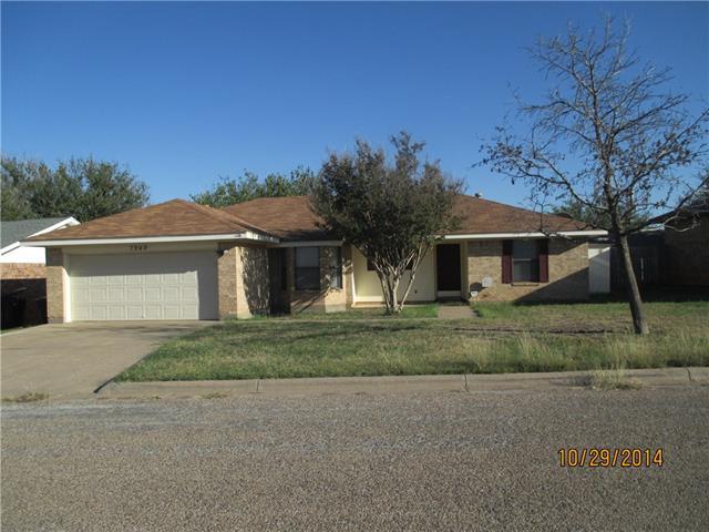 Rental Homes for Rent, ListingId:36236192, location: 7949 Vita Court Abilene 79606