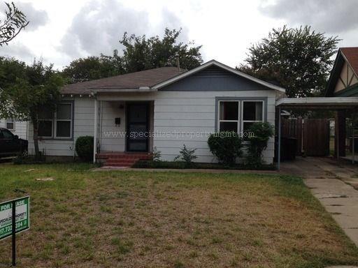 Rental Homes for Rent, ListingId:36261104, location: 4919 Birchman Avenue Ft Worth 76107