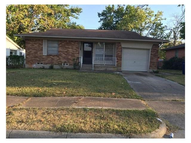 Rental Homes for Rent, ListingId:36293454, location: 702 Calvin Drive Garland 75041