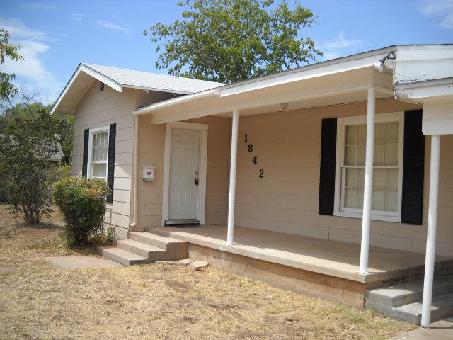 Rental Homes for Rent, ListingId:36307867, location: 1842 Idlewild Street Abilene 79602