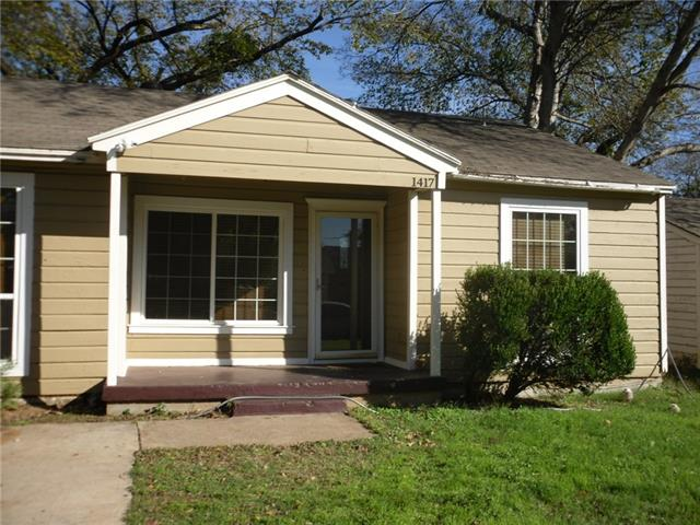 Rental Homes for Rent, ListingId:36339681, location: 1417 College Street Arlington 76001
