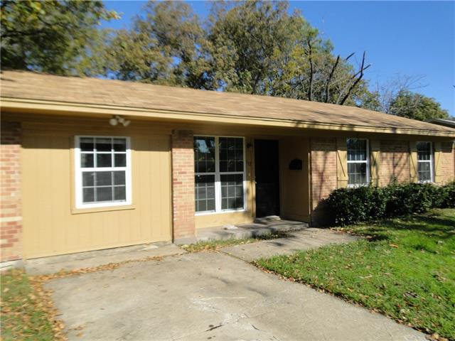 Rental Homes for Rent, ListingId:36353499, location: 117 E Chico Drive Garland 75041