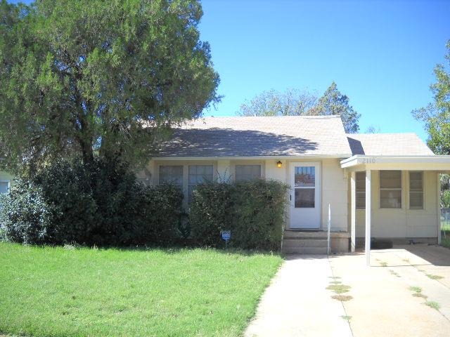 Rental Homes for Rent, ListingId:36352968, location: 2110 Amarillo Street Abilene 79602