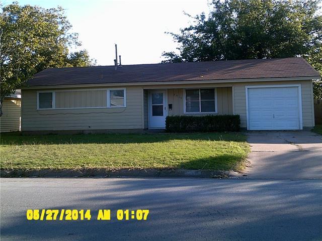 Rental Homes for Rent, ListingId:36352889, location: 2517 S 41st Street Abilene 79605