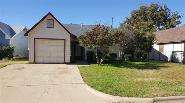 Rental Homes for Rent, ListingId:36379266, location: 41 Shady Brook Circle Abilene 79605
