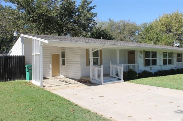 Rental Homes for Rent, ListingId:36383979, location: 809 Ector Street Denton 76201