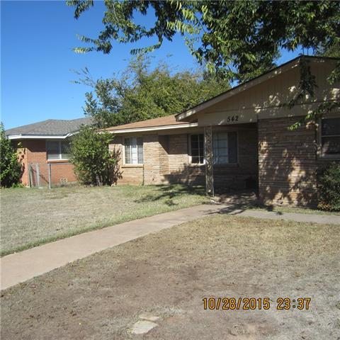 Rental Homes for Rent, ListingId:36579044, location: 542 E North 18th Street Abilene 79601