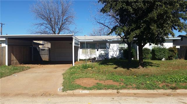Rental Homes for Rent, ListingId:36614513, location: 5320 Lamesa Avenue Abilene 79605