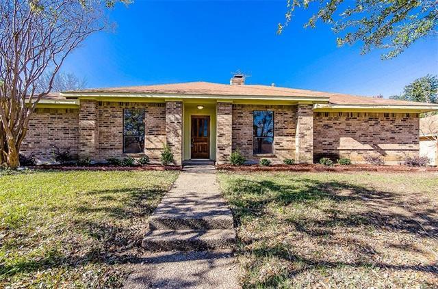 Rental Homes for Rent, ListingId:36972267, location: 5610 Vinewood Drive Garland 75043